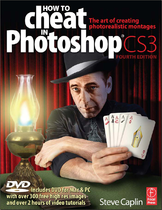 Cover to How to Cheat in Photoshop CS3