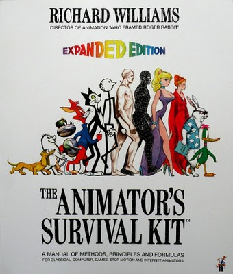 Cover to the Animator's Survival Kit by Richard Williams